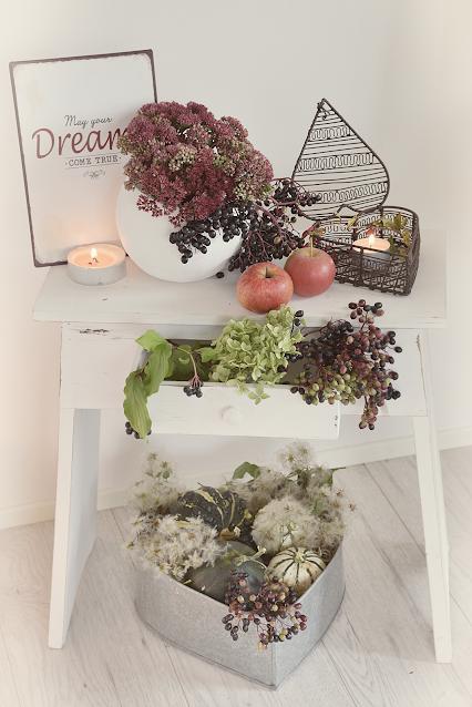Herbstdeko-Ideen im Landhausstil