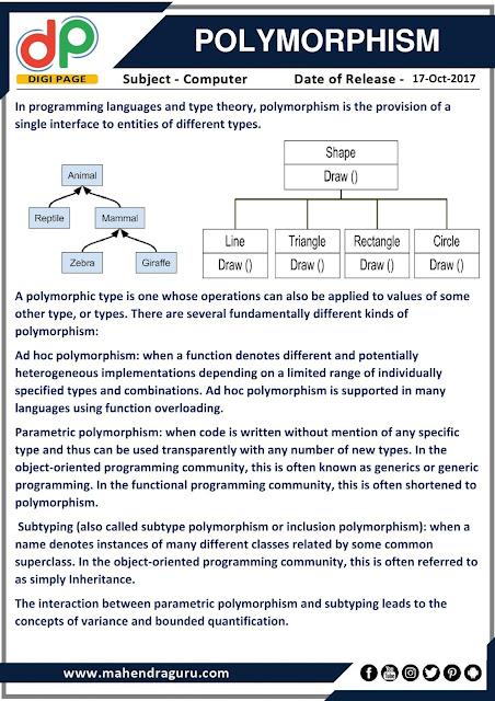DP | Polymorphism  | 17 - 10 - 17