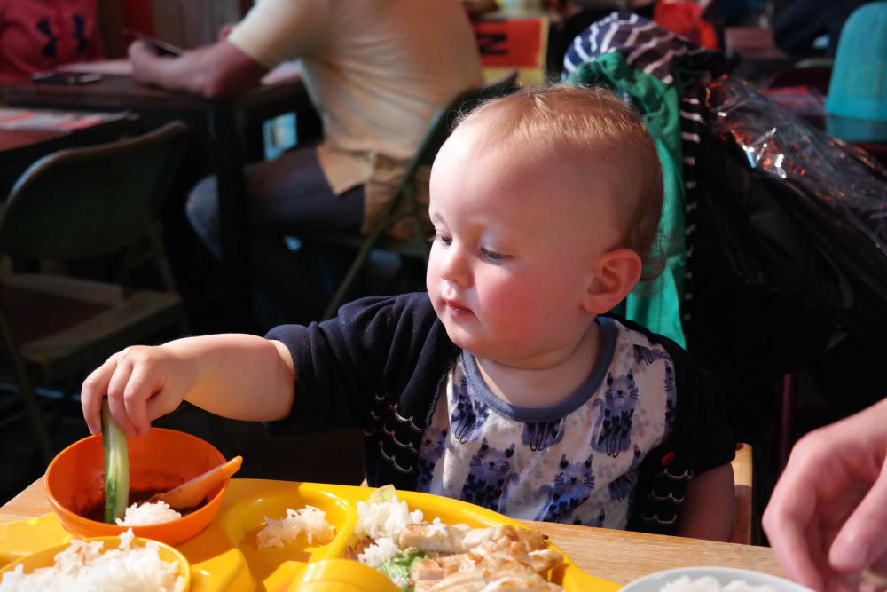 Review: Thaikun Aberdeen. Children's menu.