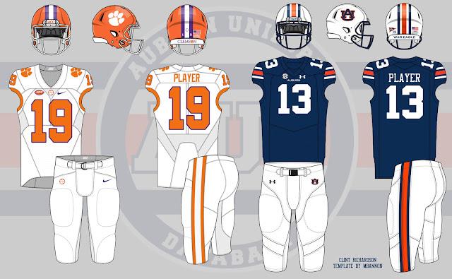 2016 Auburn Clemson