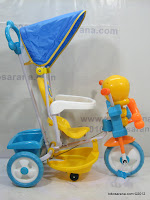 Sepeda Roda Tiga BabyDoes DT1113 Tweety
