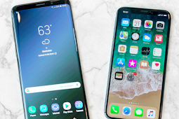 Samsung Galaxy S9 Membalap Dominasi iPhone X