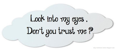 statut facebook confiance