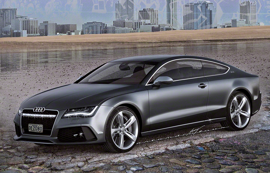 My Audi A7c An Actual Pillarless Coupe Version Of S 5 Door A7 Sportback The Hatchback Would Be Replaced By Innovative Slide And Open Tailgate Opening