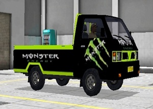 Livery Pickup Bussid Monster Energy