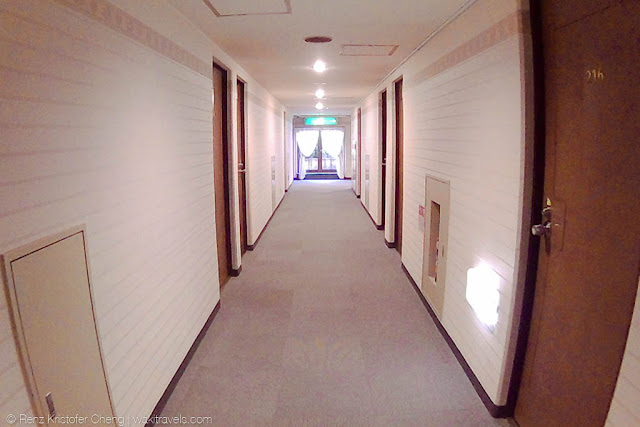 Hallway of Business Hotel Nissei, Japan