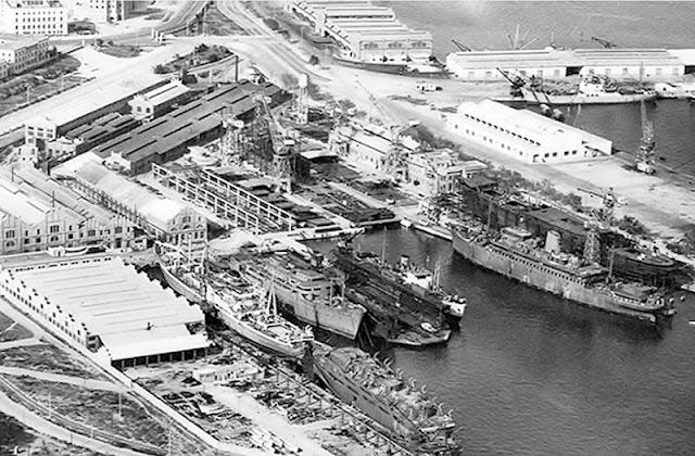 La UNL, los astilleros de Valencia.