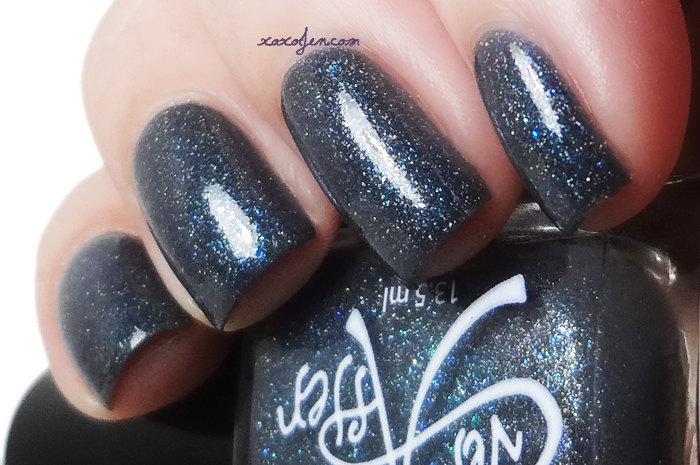 xoxoJen's swatch of Ever After Blue Steel
