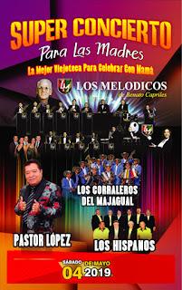 SUPER CONCIERTO PARA LAS MADRES Bogotá 2019