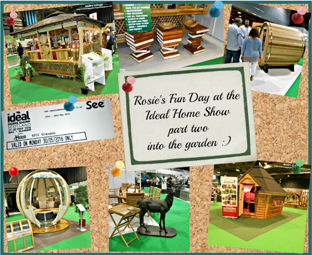 Rosie's day out at the Ideal Home Show part two
