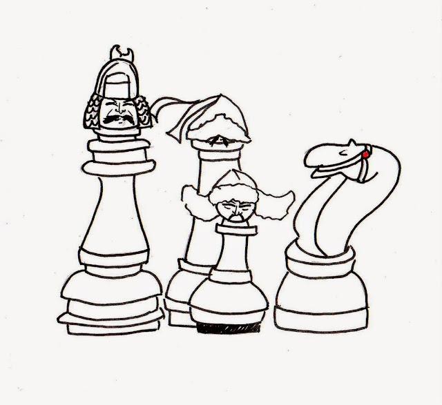 Эвелина Васильева. Шахматы с монгольскими лицами