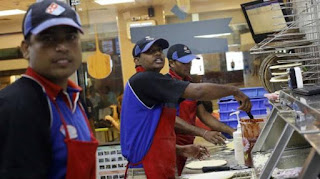 Domino in Gujarat sells non-veg pizza! Disappearing from menu
