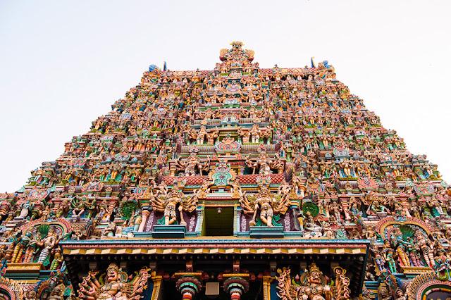 Meenakshi Amman Temple Madurai, Tamil Nadu
