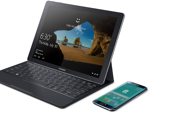 The Galaxy TabPro S is the only device you'll need in your bag. As powerful as a laptop and as mobile as a tablet, it's your most efficient workstation yet.