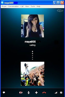 Proses pemutaran video di skype