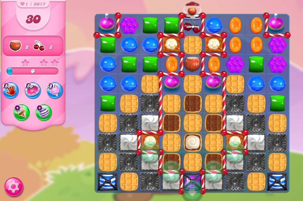 Candy Crush Saga level 6017