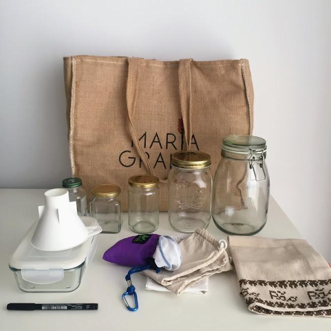 Sacos e frascos