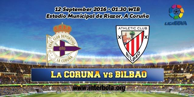 Prediksi Deportivo La Coruna vs Athletic Club 12 September 2016