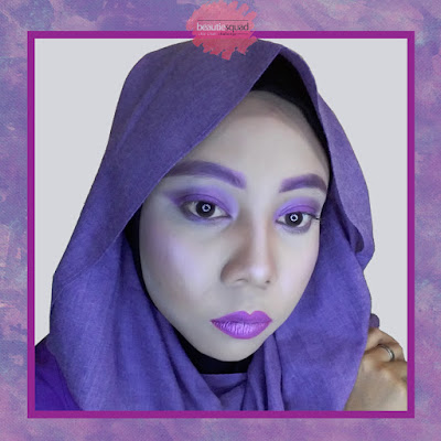 ULTRAVIOLET MAKEUP LOOK