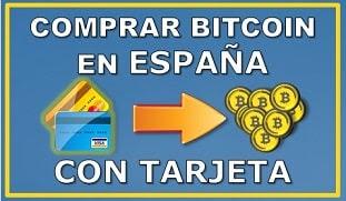Comprar Bitcoin España con Tarjeta
