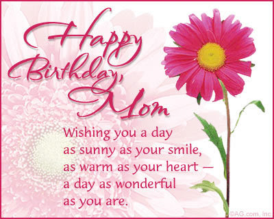 Beautiful Happy Birthday Messages For Mother Jpg 400x320 Wishes Son From