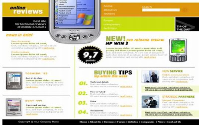 mobile site template free download - windows mobile 2013 website html template free download