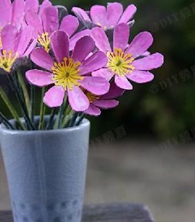 Yumurta Kutularından Çiçek Yapımı