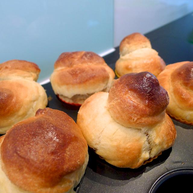Brioche-Muffins nach Cynthia Barcomi