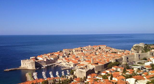 Vista de Dubrovnik - Croácia