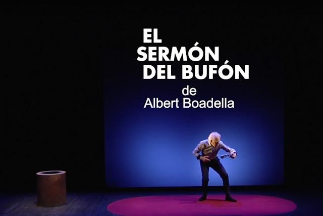 El sermón del bufón de Boadella