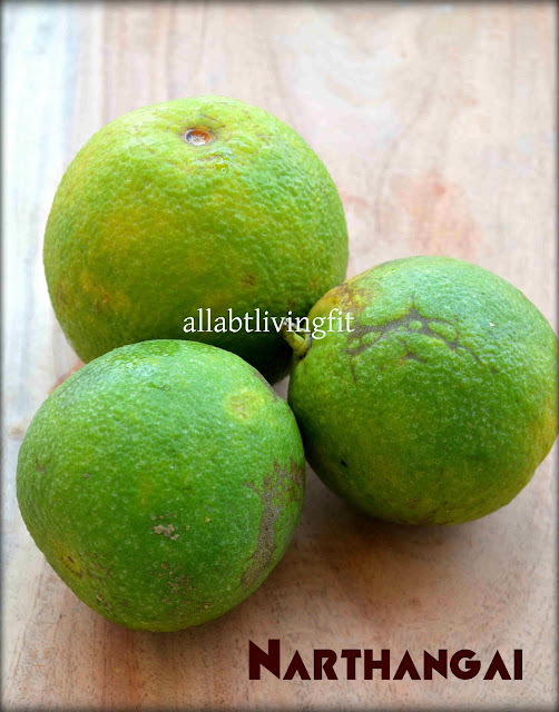 citron/bitter orange/narthangai
