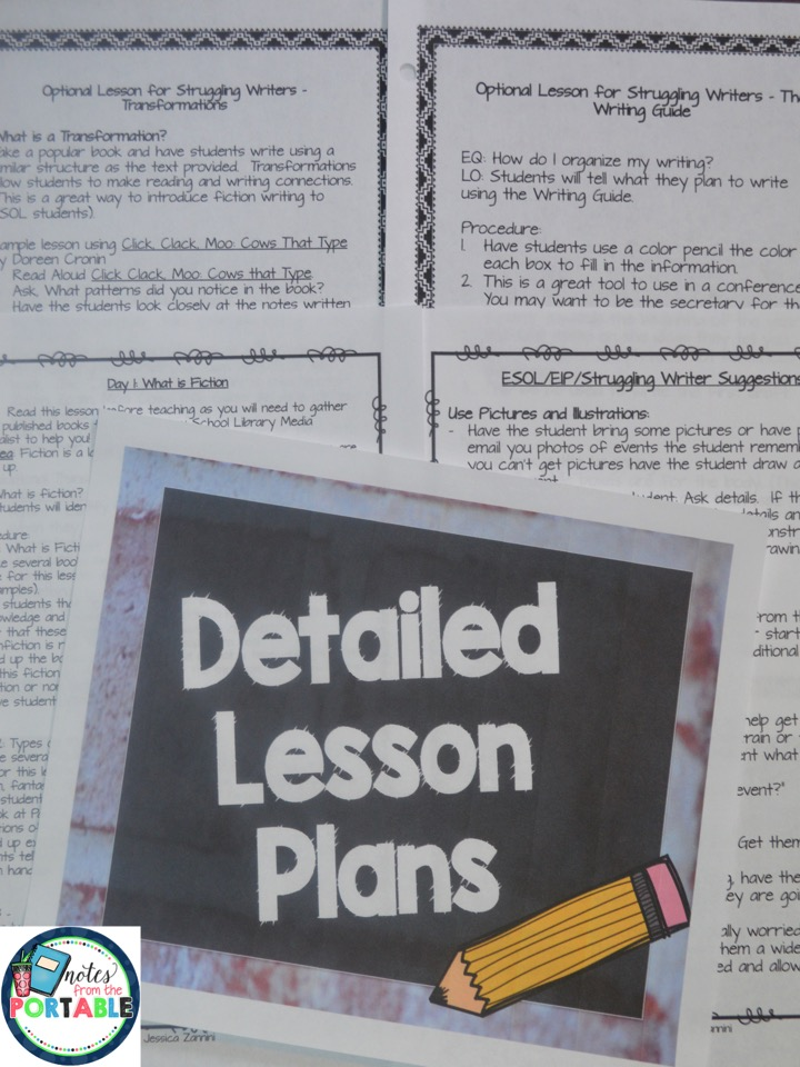 Personal Narrative Lessons 3rd Grade Writing rubric