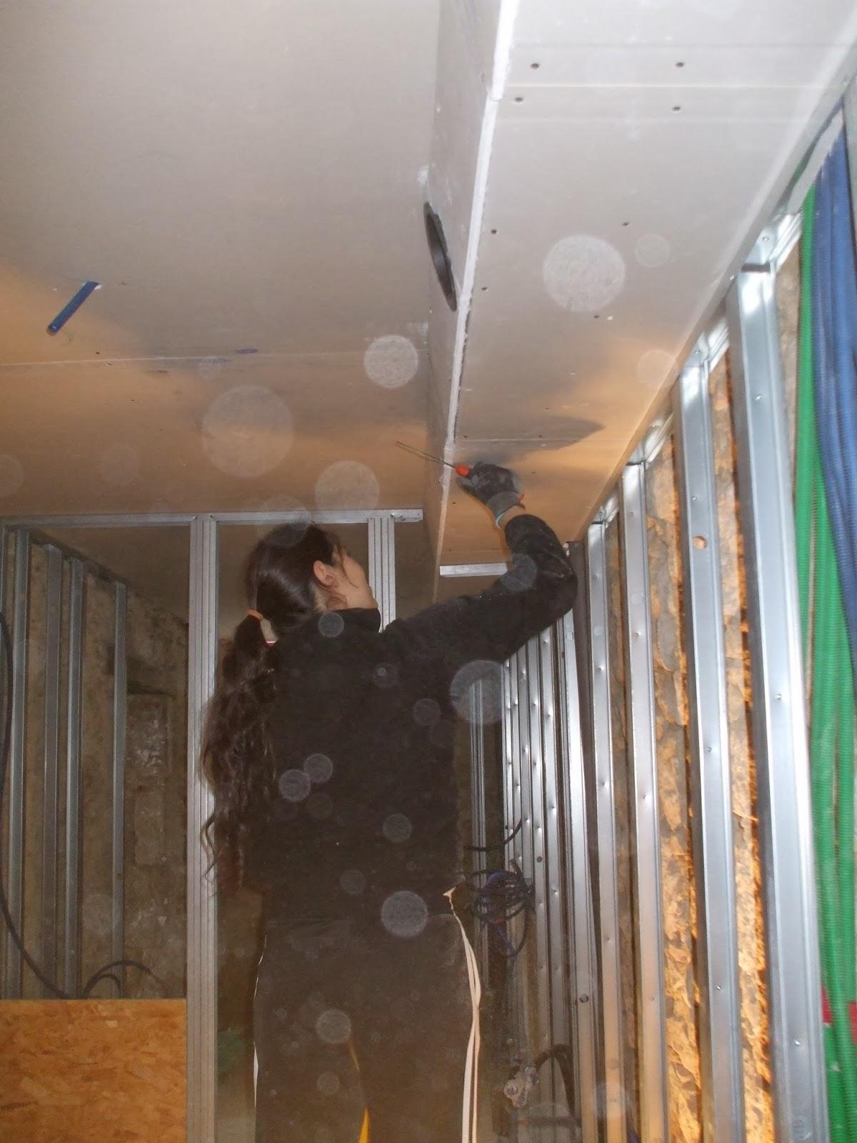 les terrasses de bessou chantier maintenant 5 6 octobre 2013 cloisons des salles de bains. Black Bedroom Furniture Sets. Home Design Ideas