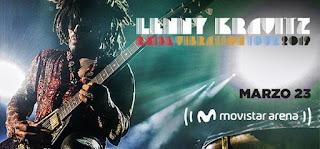 POS1 Concierto de Lenny Kravitz en Bogotá 2019