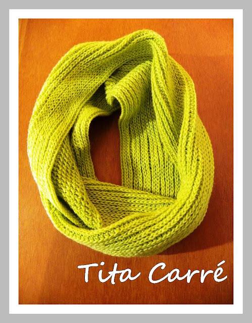 Gola Oliva em Crochet