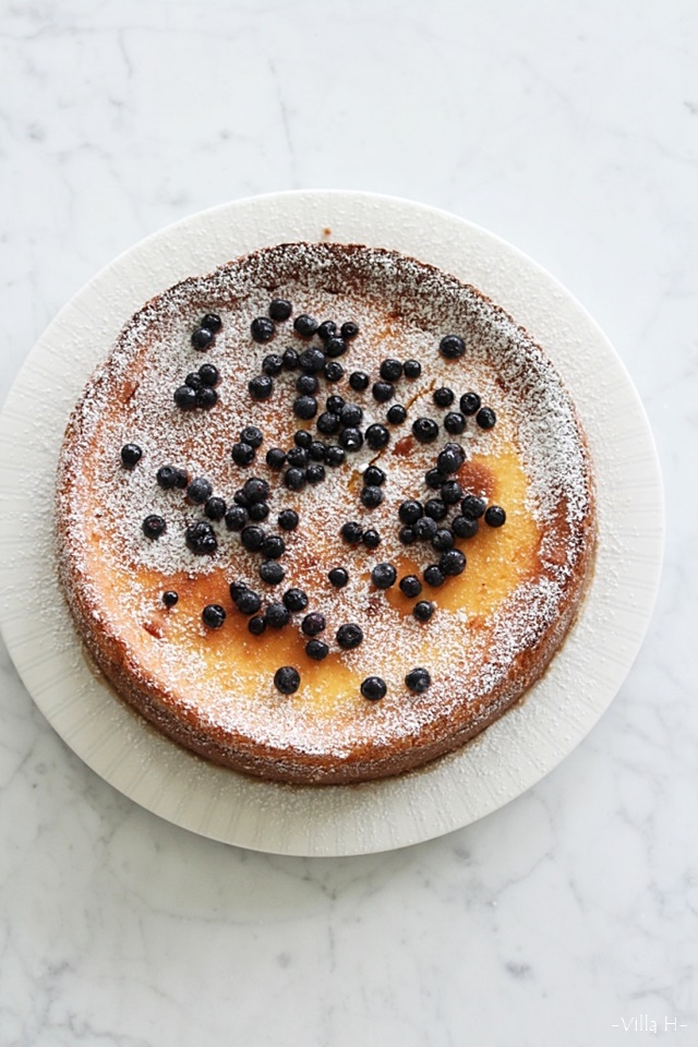 mustikkainen juustokakku, cheese cake, resepti