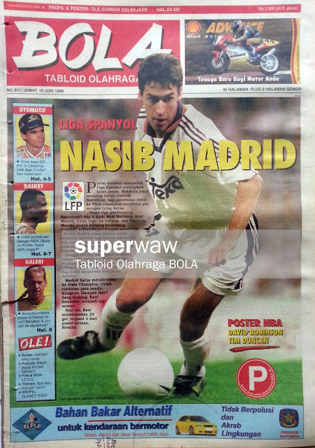 Tabloid BOLA: NASIB MADRID
