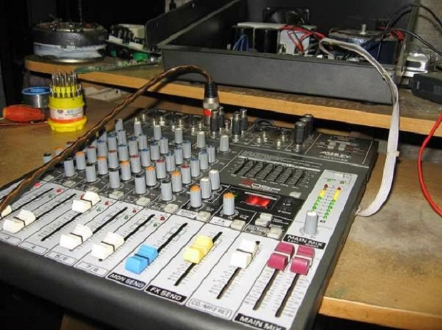 How to replace the SMD IC audio mixer Ashley PME 82 USB