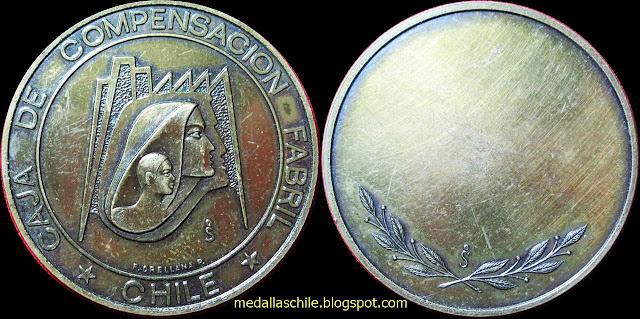 Medalla Caja de Compensación de Fomento Fabril