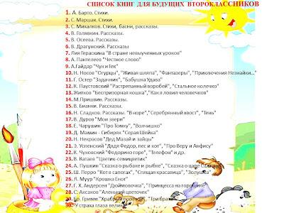 Список книг на лето 6-7 класс