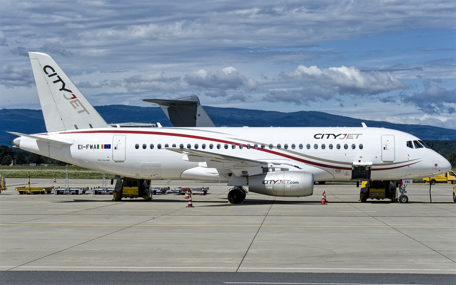 CItyJet Sukhoi Superjet 100 December 2018 Delivery