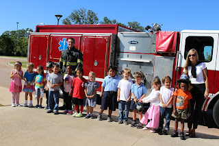 Catholic's K4 & K5 Class Gets a Special Lesson in Fire Safety 4