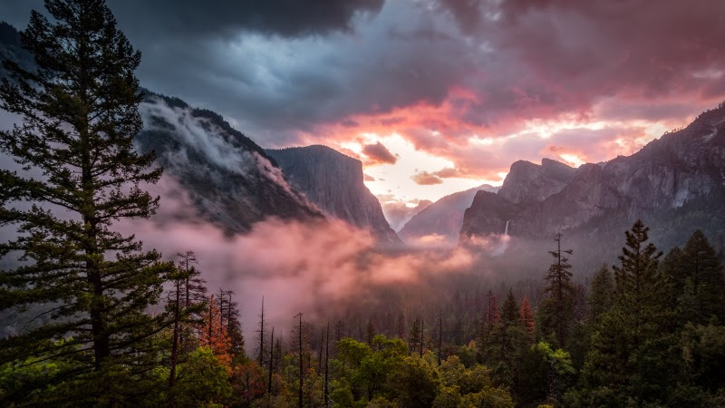 Best View from Yosemite National Park HD