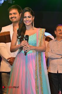 Actress Naina Ganguly Stills in Long Dress at Vangaveeti Audio Launch  0024.JPG