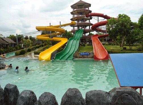 Pesona Keindahan Obyek Wisata Teejay Waterpark Di Tuguraja