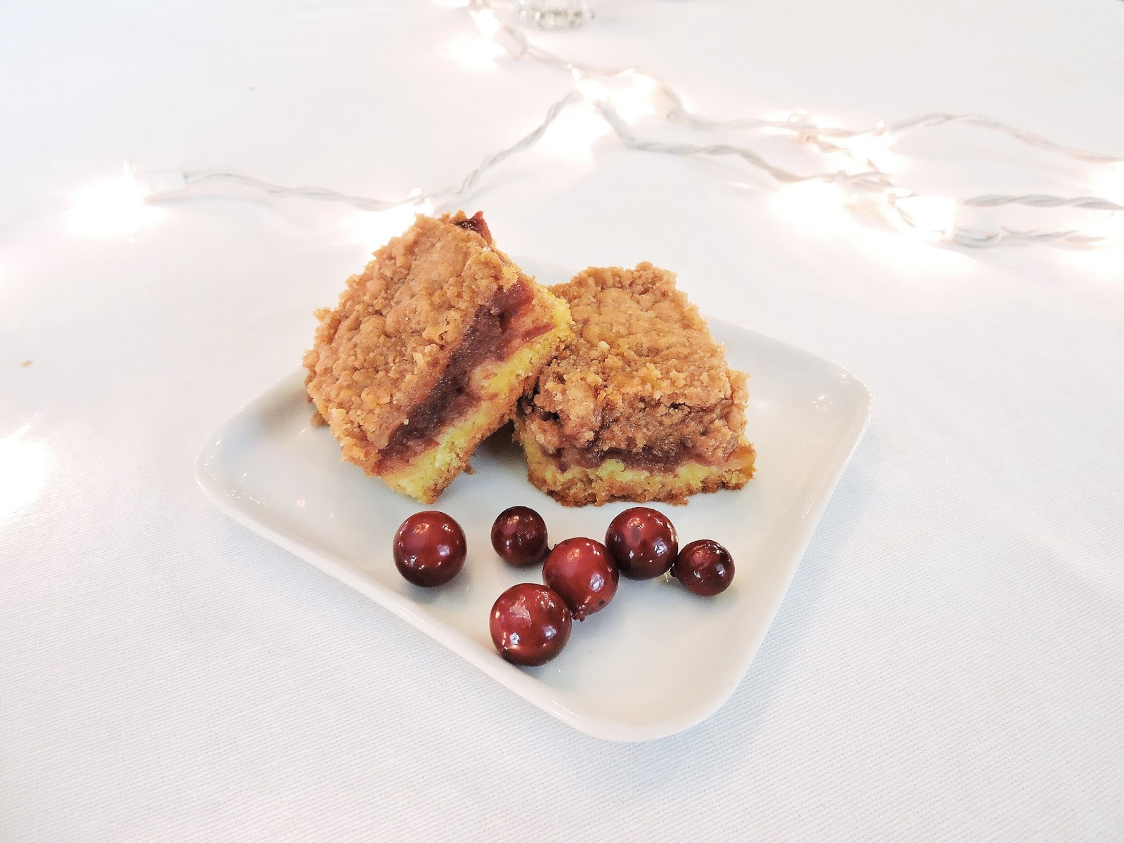 christmas ranberry relish sqaures dessert baking williams sonoma recipe sugarly