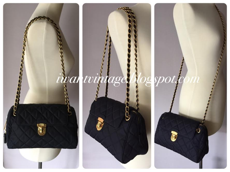 38ad2854495c prada chain bag