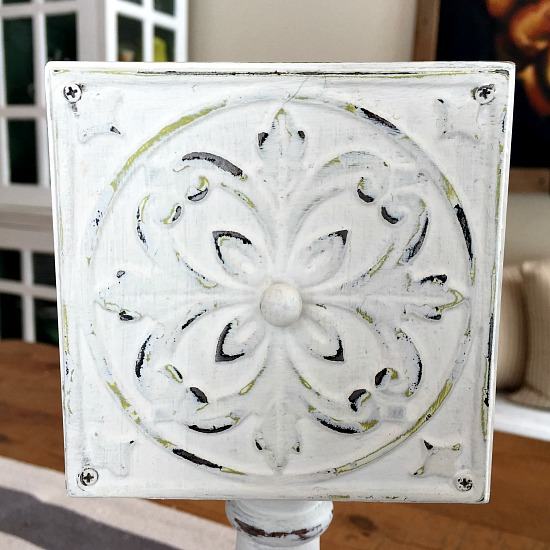 Repurposed Drawer Pedestal Dish DIY
