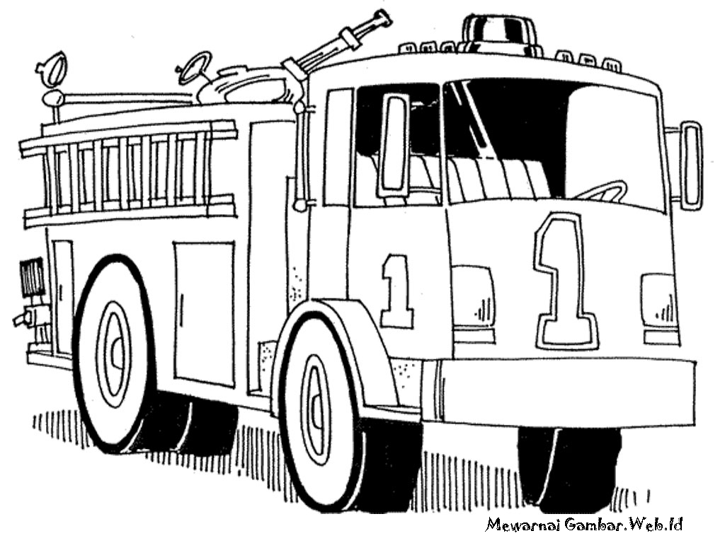 40 Gambar Mobil Kebakaran Inspirasi Terpopuler