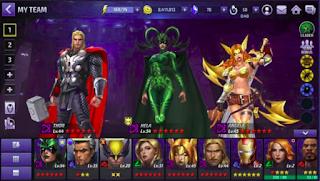 Download game RPG Marvel Future Fight MOD APK versi terbaru 2019.